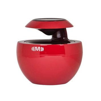Monoprice Bluetooth Portable 360° Speaker-Red