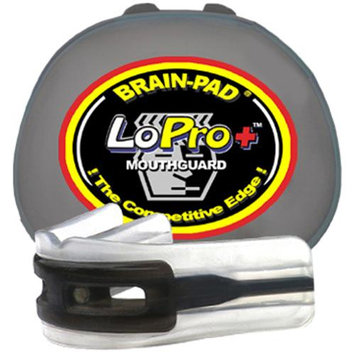 Brain-Pad LoPro+ Double Laminated Mouthguard - Youth (Black)