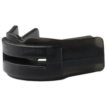 Brain-Pad Double Guard Strapless Mouthguard - Adult (Black)