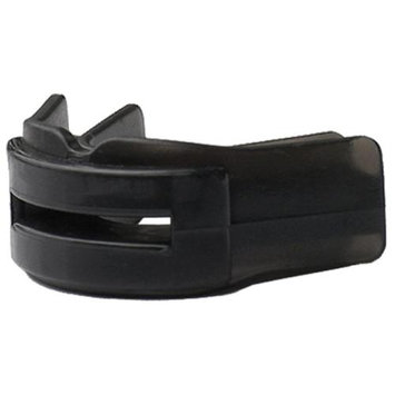 Brain-Pad Double Guard Strapless Mouthguard - Youth (Black)