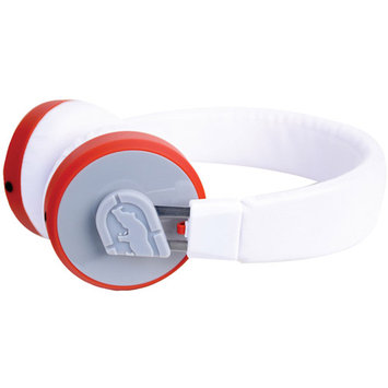 ECKO UNLIMITED EKU-VT40-WHT VOLT Headphones with In-Line Microphone (White)