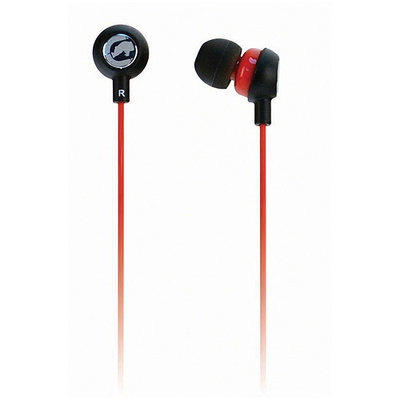 Ecko Chaos 2 Earbud Red (Pack of 6)