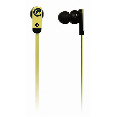 Mizco International Ecko Unlimited Eku-Zne-Ylw Ecko Zone Earbud, Yellow