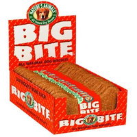 ture's Animals, Inc. Natures Animals Dog Treat Big Bite Biscuit 8 Peanut Butter