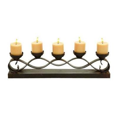 Benzara 55426 Five Candle Candelabra Centerpiece