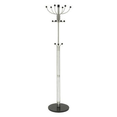 Benzara 62193 Elite and Stylish Steel Marble Coat Rack