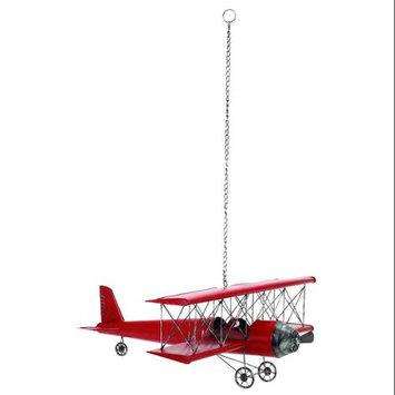 Benzara 69857 31 in. W x 11 in. H Metal Plane