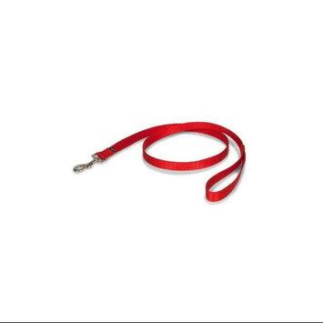 Premier Pet Nylon Dog Leash Color: Red, Size: 1.13