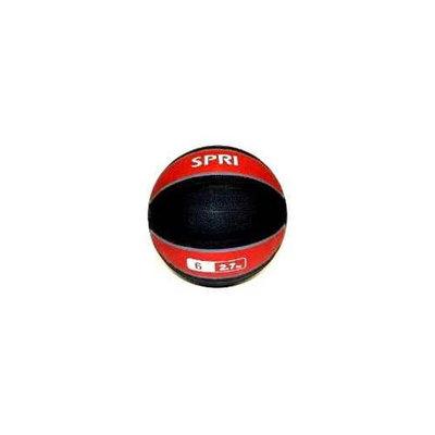 SPRI Xerball 6LB Medicine Ball - MED-6R