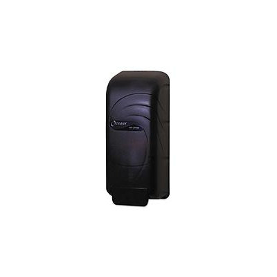 San Jamar SJMS890TBK Black Pearl Soap & Hand Sanitizer Dispenser