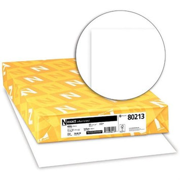 Wausau Papers Exact Vellum Bristol, Copy/Print, White, 92 Bright, 67lb, 11 x 17, 250
