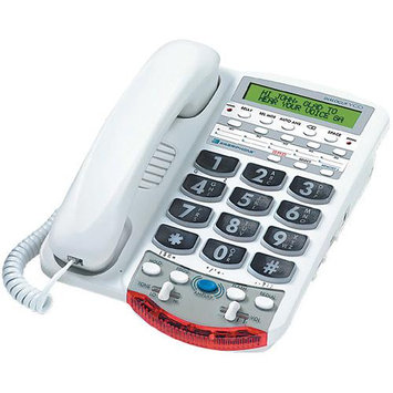 Clarity-Vco - 76566 Voice Carry Over Phone - White