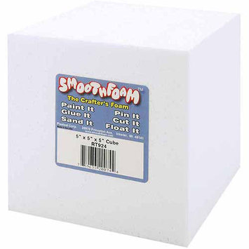 Smoothfoam Plasteel Corp RT924 Smooth Foam Cube 5 1/Pkg