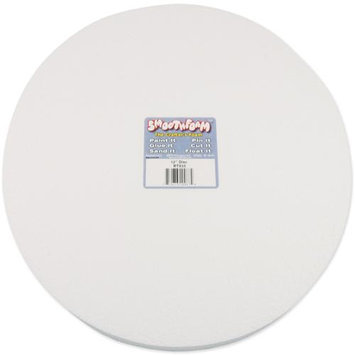 Smoothfoam 438677 Smooth Foam Disc 12 in. x 1 in. 1-Pkg-White