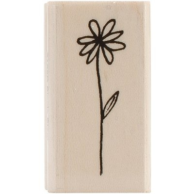 Penny Black Mounted Rubber Stamp 1