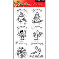 Penny Black Clear Stamps-12 Days Of Christmas