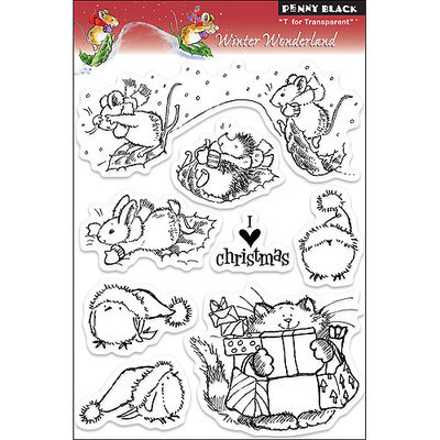 Penny Black Clear Stamps, Winter Wonders