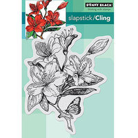 Penny Black Cling Rubber Stamp 5inX7.5in Sheet-Jubilant