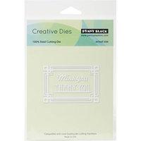 Penny Black Creative Dies Deco Frame, 3inX2in