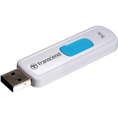 Transcend JetFlash 530 - USB flash drive - 8GB - blue