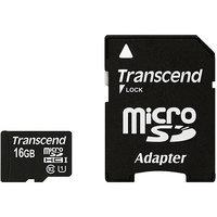 Transcend Premium 16GB microSD High Capacity (microSDHC) - 1 Card