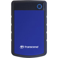 Transcend StoreJet TS1TSJ25H3B 1TB 2.5in. External Hard Drive