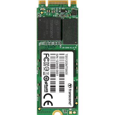 Transcend Mts600 512GB Internal Solid State Drive - M.2 - 560 Mbps Maximum Read Transfer Rate - 310 Mbps Maximum Write Transfer Rate (ts512gmts600)