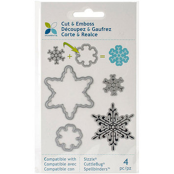 Momenta Cut & Emboss Die-Snowflakes