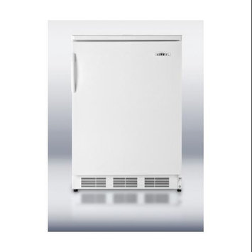 Summit Appliances FF6 24 Inch All-Refrigerator With Automatic Defrost - White