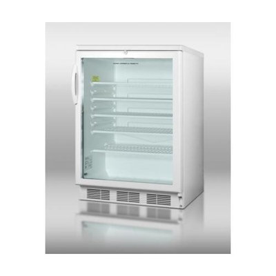 Summit Undercounter Glass Door with Lock Beverage Cooler