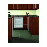 Summit SCR600BLBISH 5.5 Cu. Ft. Stainless Look Undercounter Built-In Compact Refrigerator