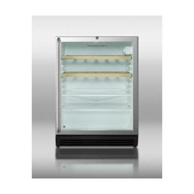 Summit SCR600BL-CSSRC Beverage Cooler