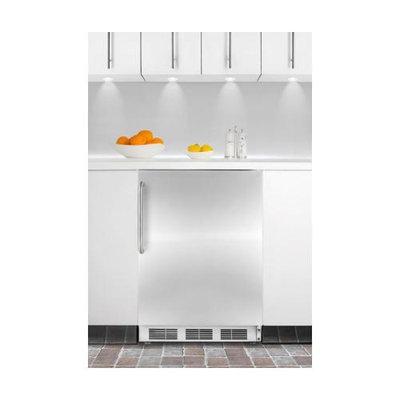 Summit AL752LBLBISSHV 5.5 Cu. Ft. Stainless Steel Undercounter Compact Refrigerator