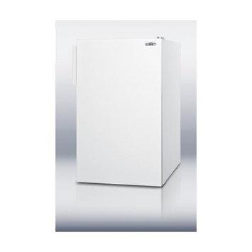 Summit Appliances CM405 20 wide counter height refrigerator-freezer in white