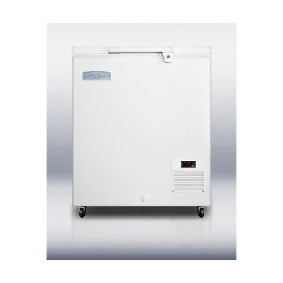 Summit Appliances EL11LT Commercial -45 C capable chest freezer with digital thermostat and 4.8 cu. ft. capacity