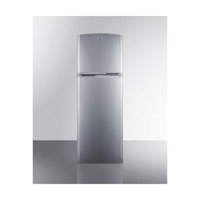 Summit 8.9 Cu. Ft. Frost-Free Refrigerator-Freezer - Platinum