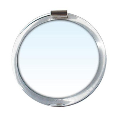 Rucci M844 7x and 1x Compact Mirror with 3 in. Diameter Magnifying Glass