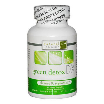 Natural Dynamix Green Detox DX - 60 Vegetarian Capsules