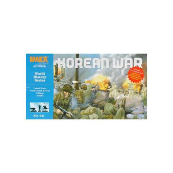 IMEX 611 1/72 Korean War Set (4 Armies)