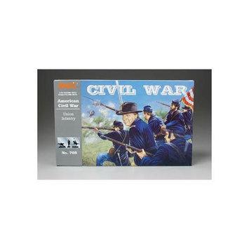 Union Infantry Civil War Set 1/32 Imex Multi-Colored