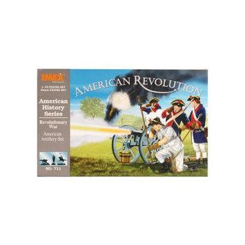 Revolutionary War American Artillery Figure Set by - Imex