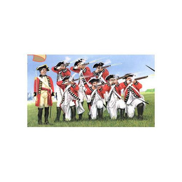 3200 1/32 Revolutionary War British Infantry (20) IMXS3200 IMEX