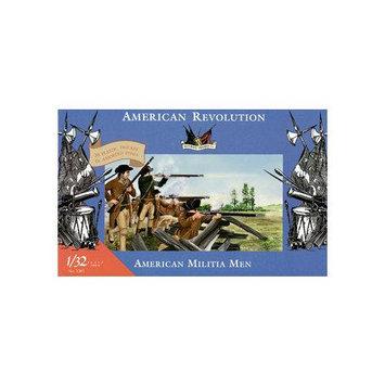 3201 1/32 Revolutionary War American Militia Men (20) IMXS3201 IMEX