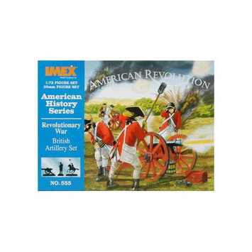 Revolutionary War British Artillery 1-72 - Imex - 555