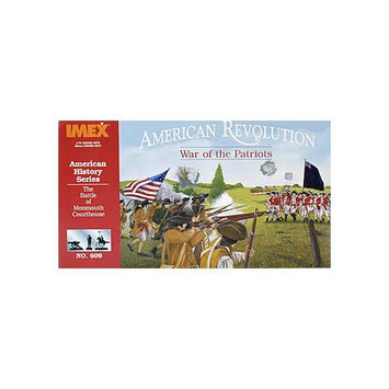 Imex 609 1/72 Rev War Diorama Complete Multi-Colored