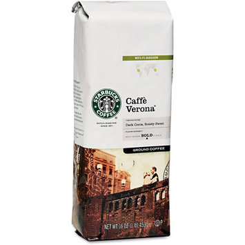 Starbucks 11018131 Coffee Verona Ground 1 lb. Bag