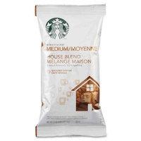 Starbucks Coffee Coffee, House Blend, Regular, 2.5 Oz Pack, 18/Box