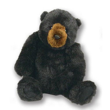 The Hen House 22 Life-Like Extra Soft and Cuddly Jointed Plush Black Bear Stuffed Animal Hug