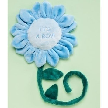 Roman Pack of 6 It's a Boy Plush Flowers with Wire Stems