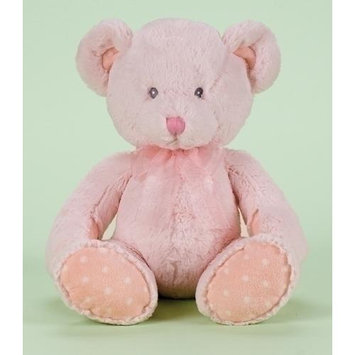 Roman Pack of 2 Child's First Teddy Bear in Pink for Girls 18